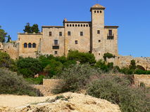 Castell, Tamarit de Mar (Spain ) Royalty Free Stock Photos