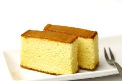 Castella . Castella is a Japanese sponge cake Stock Image
