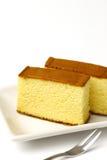 Castella. Is a Japanese sponge cake Stock Images