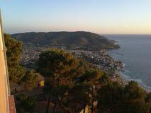 Castellabate - panorama de San Marco Fotografia de Stock Royalty Free