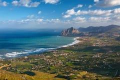 Castellamare Del Golfo Stockfotos