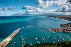 Castellamare del golfo Stock Photo