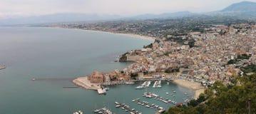 Castellamare Del Golfo lizenzfreie stockbilder