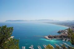 castellamare Del Golfo Sicily Trapani Fotografia Stock