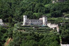 Castellammare城堡 图库摄影