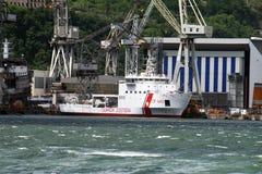 Castellammare造船厂 库存图片