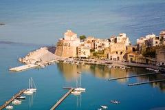 castellammare del golfo意大利西西里岛 免版税库存图片