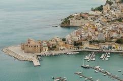 Castellammare del Golfo, Σικελία Στοκ φωτογραφία με δικαίωμα ελεύθερης χρήσης