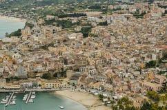 Castellammare del Golfo, Σικελία Στοκ φωτογραφίες με δικαίωμα ελεύθερης χρήσης