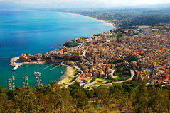 castellammare del Golfo (西西里岛) 图库摄影