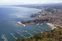 Castellammare Del Golfo   lizenzfreies stockfoto
