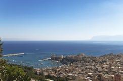 Castellammare Del Golfo lizenzfreies stockbild