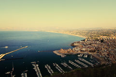 Castellammare del Golfo panorama Royalty-vrije Stock Fotografie