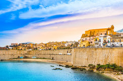 Castellammare del Golfo panoramic view,Trapani, Sicily Royalty Free Stock Photo