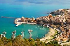 Castellammare del Golfo (Sicília) Imagem de Stock