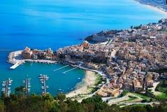 Castellammare del Golfo (Sicilië) Royalty-vrije Stock Foto's
