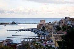 Castellammare del Golfo, Sicilië, Italië Royalty-vrije Stock Fotografie