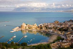 Castellammare del Golfo, Sicilië, Italië Royalty-vrije Stock Afbeeldingen