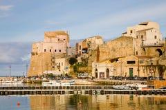 Castellammare del Golfo, Sicilië, Italië Royalty-vrije Stock Foto's