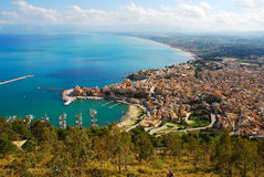 Castellammare del Golfo (Sicilia) Fotos de archivo libres de regalías