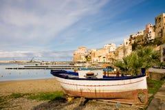 Castellammare del Golfo, Sicilia, Italia Imagenes de archivo