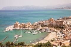 Castellammare del Golfo, Sicilia, Italia Fotografía de archivo