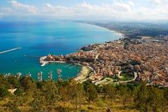 Castellammare del Golfo (Sicily) Royaltyfria Foton