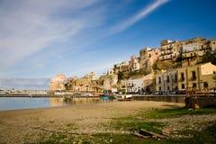 Castellammare Del Golfo, Sizilien, Italien Stockbild