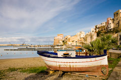 Castellammare Del Golfo, Sizilien, Italien Stockbilder