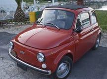 Fiat 500 auto Royalty-vrije Stock Afbeeldingen