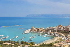Castellammare del Golfo, Trapani, Sicily Royalty Free Stock Images