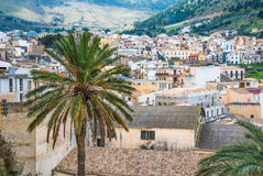 Castellammare del Golfo village, Trapani, Sicily, Italy Stock Photo