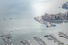 Castellammare port royalty free stock images