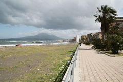 Castellammare seaside Royalty Free Stock Photography