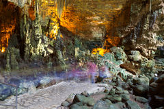 castellana grotte Ιταλία Στοκ Φωτογραφία