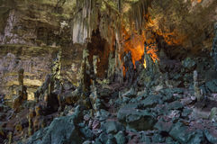 Castellana Grotte, Puglia, Italien Stockbilder