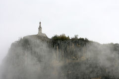 castellane教堂du法国贵妇人notre大鹏 免版税库存图片