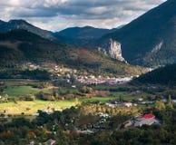 Castellane Alpes-de-Haute-Provence, Francia Immagini Stock Libere da Diritti