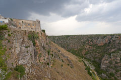Castellaneta (Taranto) - Oude stad royalty-vrije stock fotografie