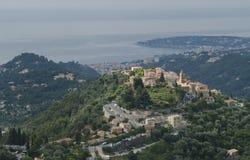 castellar普罗旺斯村庄 免版税库存图片