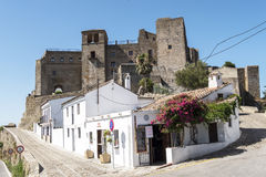 Castellar de la Frontera Castle Royalty Free Stock Photo