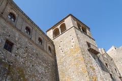 Castellar de la Frontera Castle, Andalusía, Spain Stock Photo