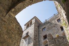 Castellar de la Frontera Castle, Andalusía, Spain Royalty Free Stock Photo