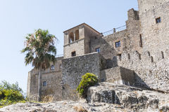 Castellar de la Frontera Castle, Andalusia, Spain Royalty Free Stock Photography
