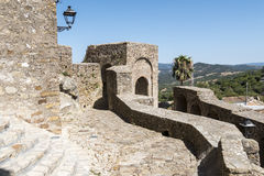 Castellar de la Frontera Castle, Andalusia, Spain Stock Photo