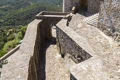 Castellar de la Frontera Castle, Andalusia, Spain Royalty Free Stock Image