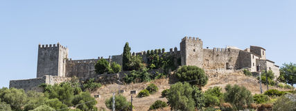 Castellar de la Frontera Castle, Andalusia, Spain Stock Photos