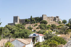 Castellar de la Frontera Castle, Andalusia, Spain Royalty Free Stock Photos