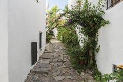 Castellar de la Frontera streets, Andalusia, Spain Royalty Free Stock Image