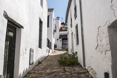 Castellar de la Frontera streets, Andalusia, Spain Royalty Free Stock Photos